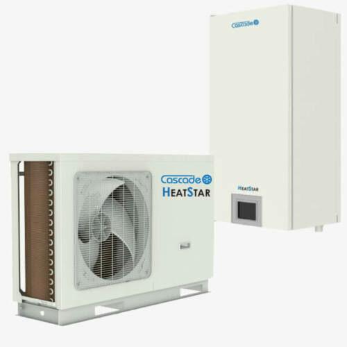 Cascade HeatStar osztott levegő-víz hőszivattyú 9 kW, 1 fázis