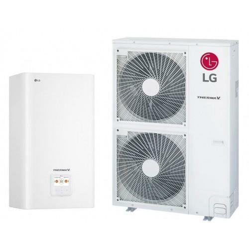 LG Therma V osztott levegő-víz hőszivattyú 12 kW, 1 fázis