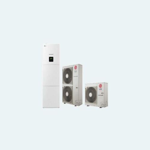 LG Therma V osztott integrált HMV típusú levegő-víz hőszivattyú 12 kW, 1 fázis
